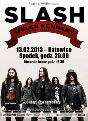 Slash - koncert w Polsce