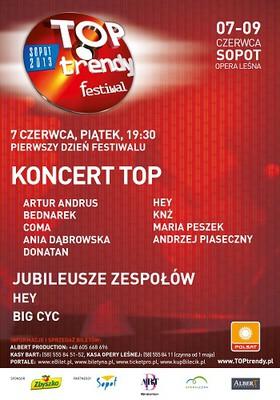 Sopot TOPtrendy Festiwal 2013