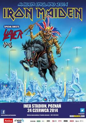 Iron Maiden - koncert w Polsce / Maiden England World Tour 2014