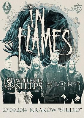 In Flames - koncert w Polsce