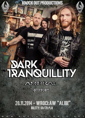 Dark Tranquillity - koncert w Polsce