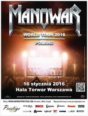 Manowar - koncert w Polsce / Manowar World Tour 2016