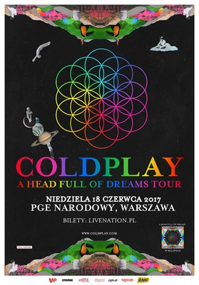 Coldplay - koncert w Polsce / Coldplay - A Head Full of Dreams Tour
