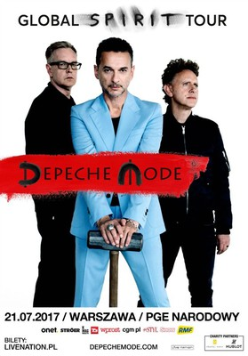 Depeche Mode - koncert w Polsce / Depeche Mode - Global Spirit Tour
