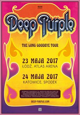 Deep Purple - koncert w Łodzi / Deep Purple - The Long Goodbye Tour