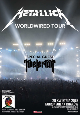 Metallica - koncert w Polsce / Metallica - Hardwired... to Self-Destruct Tour