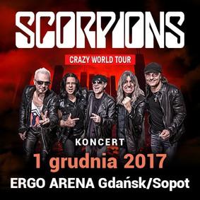 Scorpions - koncert w Polsce / Scorpions - Crazy World Tour