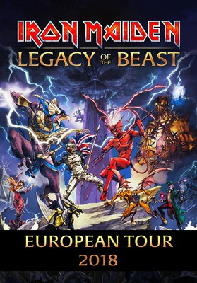 Iron Maiden: Legacy of the Beast - European Tour 2018