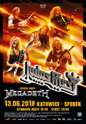 Judas Priest / Megadeth - koncert w Katowicach