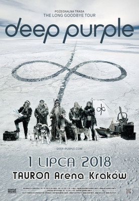 Deep Purple - koncert w Krakowie / Deep Purple - The Long Goodbye Tour 2018